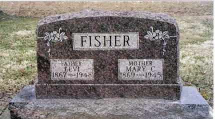 FISHER, MARY C. - Preble County, Ohio | MARY C. FISHER - Ohio Gravestone Photos