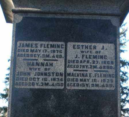 FLEMING, ESTHER J. - Preble County, Ohio | ESTHER J. FLEMING - Ohio Gravestone Photos
