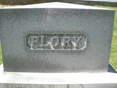 FLORY, MONUMENT - Preble County, Ohio | MONUMENT FLORY - Ohio Gravestone Photos