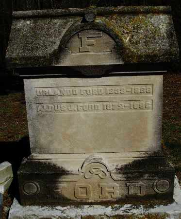 FORD, ALDUS J. - Preble County, Ohio | ALDUS J. FORD - Ohio Gravestone Photos