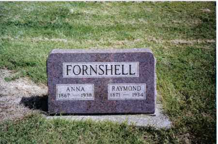 FORNSHELL, ANNA - Preble County, Ohio | ANNA FORNSHELL - Ohio Gravestone Photos