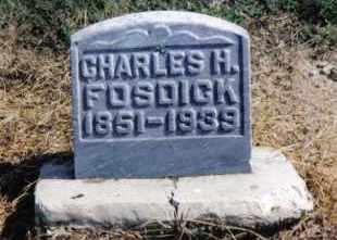 FOSDICK, CHARLES H. - Preble County, Ohio | CHARLES H. FOSDICK - Ohio Gravestone Photos