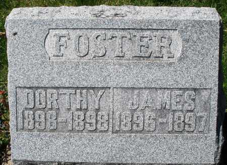 FOSTER, JAMES - Preble County, Ohio | JAMES FOSTER - Ohio Gravestone Photos