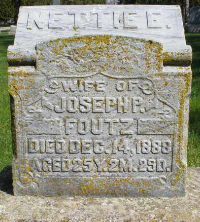FOUTZ, NETTIE - Preble County, Ohio | NETTIE FOUTZ - Ohio Gravestone Photos