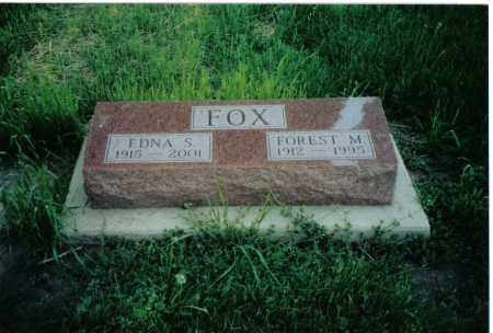 FOX, FOREST M. - Preble County, Ohio | FOREST M. FOX - Ohio Gravestone Photos