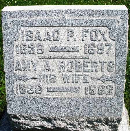 FOX, ISAAC P. - Preble County, Ohio | ISAAC P. FOX - Ohio Gravestone Photos