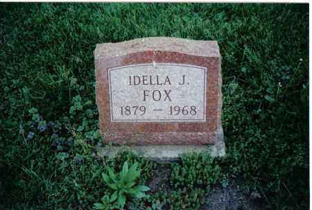 FOX, IDELLA J. - Preble County, Ohio | IDELLA J. FOX - Ohio Gravestone Photos