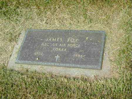 FOX, JAMES - Preble County, Ohio | JAMES FOX - Ohio Gravestone Photos