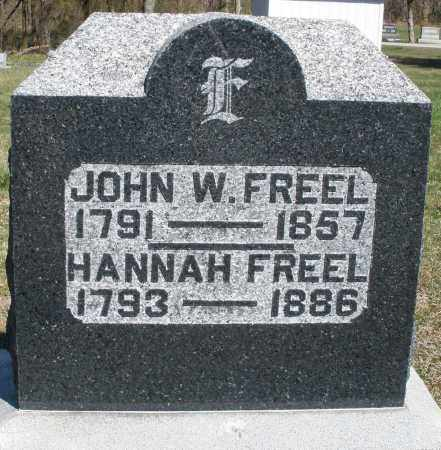 FREEL, HANNAH - Preble County, Ohio | HANNAH FREEL - Ohio Gravestone Photos