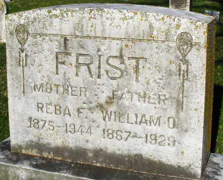 FRIST, WILLIAM - Preble County, Ohio | WILLIAM FRIST - Ohio Gravestone Photos
