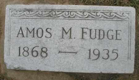 FUDGE, AMOS M. - Preble County, Ohio | AMOS M. FUDGE - Ohio Gravestone Photos
