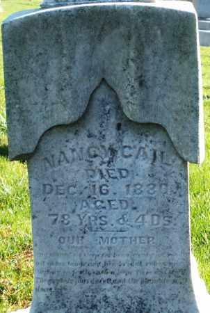 GAIL/CAIL, NANCY - Preble County, Ohio | NANCY GAIL/CAIL - Ohio Gravestone Photos