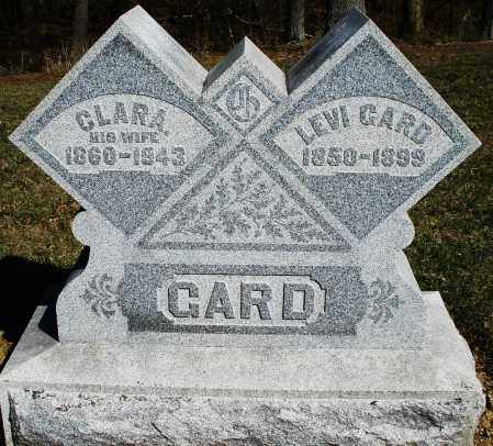 GARD, CLARA - Preble County, Ohio | CLARA GARD - Ohio Gravestone Photos