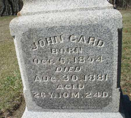 GARD, JOHN - Preble County, Ohio | JOHN GARD - Ohio Gravestone Photos