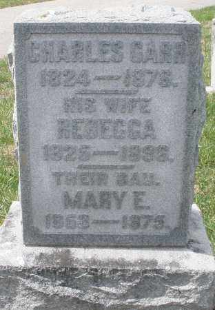 GARR, REBECCA - Preble County, Ohio | REBECCA GARR - Ohio Gravestone Photos