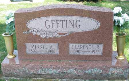 GEETING, CLARENCE R. - Preble County, Ohio | CLARENCE R. GEETING - Ohio Gravestone Photos