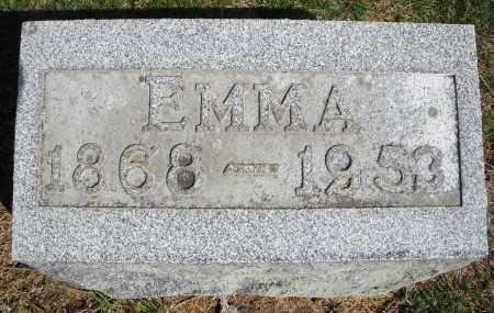 GEETING, EMMA - Preble County, Ohio | EMMA GEETING - Ohio Gravestone Photos