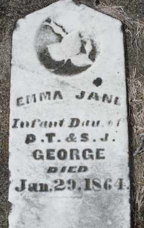 GEORGE, EMMA JANE - Preble County, Ohio | EMMA JANE GEORGE - Ohio Gravestone Photos