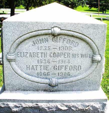 GIFFORD, ELIZABETH - Preble County, Ohio | ELIZABETH GIFFORD - Ohio Gravestone Photos