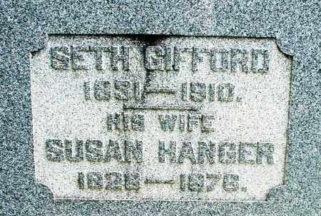 GIFFORD, SETH - Preble County, Ohio | SETH GIFFORD - Ohio Gravestone Photos