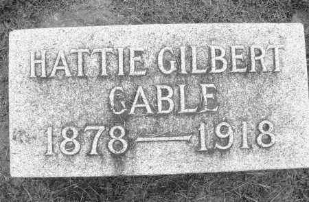 GILBERT, HATTIE - Preble County, Ohio | HATTIE GILBERT - Ohio Gravestone Photos