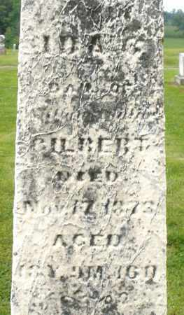 GILBERT, IDA - Preble County, Ohio | IDA GILBERT - Ohio Gravestone Photos
