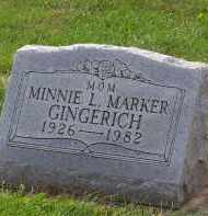 GINGERICH, MINNIE LOUISE - Preble County, Ohio | MINNIE LOUISE GINGERICH - Ohio Gravestone Photos
