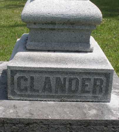 GLANDER, ? - Preble County, Ohio   ? GLANDER - Ohio Gravestone Photos