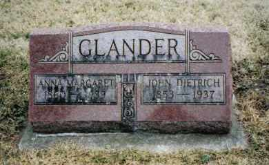 GLANDER, ANNA MARGARET - Preble County, Ohio | ANNA MARGARET GLANDER - Ohio Gravestone Photos