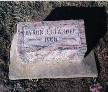 GLANDER, BYRON - Preble County, Ohio | BYRON GLANDER - Ohio Gravestone Photos