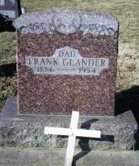 GLANDER, FRANK - Preble County, Ohio | FRANK GLANDER - Ohio Gravestone Photos