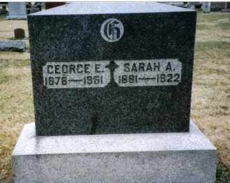 GLANDER, SARAH A. - Preble County, Ohio | SARAH A. GLANDER - Ohio Gravestone Photos