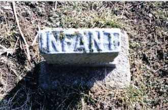 GLANDER, INFANT - Preble County, Ohio | INFANT GLANDER - Ohio Gravestone Photos