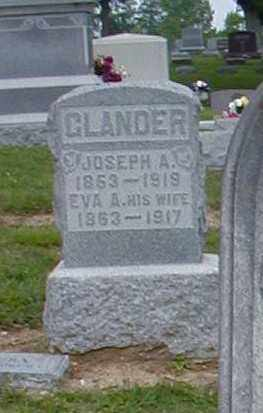 GLANDER, JOSEPH A. - Preble County, Ohio | JOSEPH A. GLANDER - Ohio Gravestone Photos