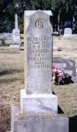 GLANDER, REBECCA M. - Preble County, Ohio | REBECCA M. GLANDER - Ohio Gravestone Photos