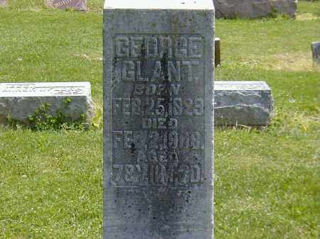 GLANT, GEORGE - Preble County, Ohio | GEORGE GLANT - Ohio Gravestone Photos
