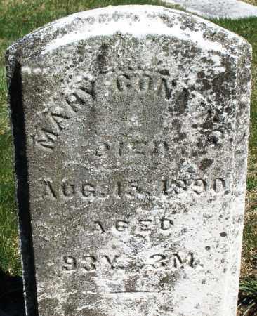 GONNING, MARY - Preble County, Ohio   MARY GONNING - Ohio Gravestone Photos