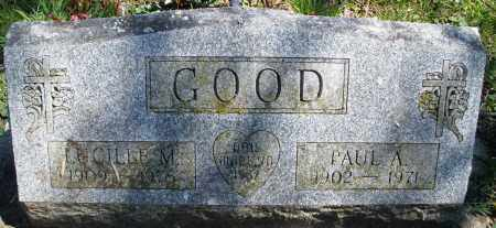 GOOD, LUCILLE M. - Preble County, Ohio | LUCILLE M. GOOD - Ohio Gravestone Photos