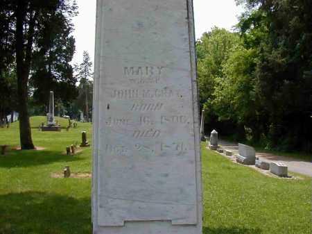GRAY, MARY - Preble County, Ohio | MARY GRAY - Ohio Gravestone Photos