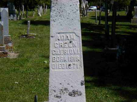 GREEN, ADAM - Preble County, Ohio | ADAM GREEN - Ohio Gravestone Photos
