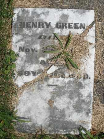 GREEN, HENRY - Preble County, Ohio | HENRY GREEN - Ohio Gravestone Photos