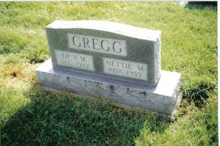 GREGG, NETTIE M. - Preble County, Ohio | NETTIE M. GREGG - Ohio Gravestone Photos