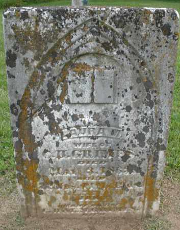 GRIMES, LAURA - Preble County, Ohio | LAURA GRIMES - Ohio Gravestone Photos