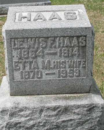 HAAS, ETTA M. - Preble County, Ohio | ETTA M. HAAS - Ohio Gravestone Photos