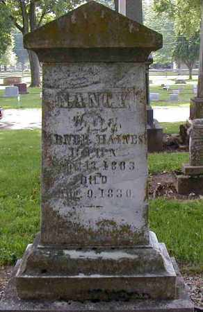 HAINES, NANCY - Preble County, Ohio | NANCY HAINES - Ohio Gravestone Photos