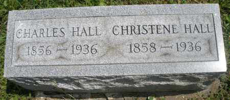 HALL, CHRISTENE - Preble County, Ohio | CHRISTENE HALL - Ohio Gravestone Photos
