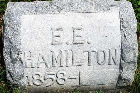 HAMILTON, E. E. - Preble County, Ohio | E. E. HAMILTON - Ohio Gravestone Photos
