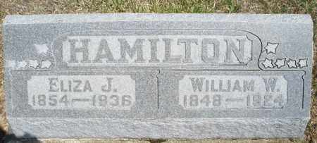 HAMILTON, WILLIAM W. - Preble County, Ohio | WILLIAM W. HAMILTON - Ohio Gravestone Photos