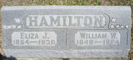 HAMILTON, ELIZA J. - Preble County, Ohio | ELIZA J. HAMILTON - Ohio Gravestone Photos