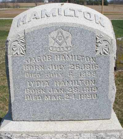 HAMILTON, LYDIA - Preble County, Ohio | LYDIA HAMILTON - Ohio Gravestone Photos